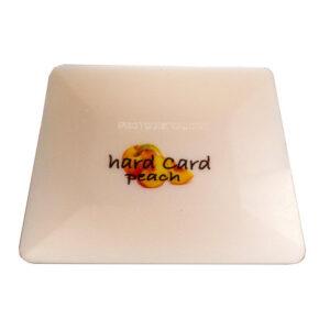 GT086PCH – Peach Hard Card Squeegee